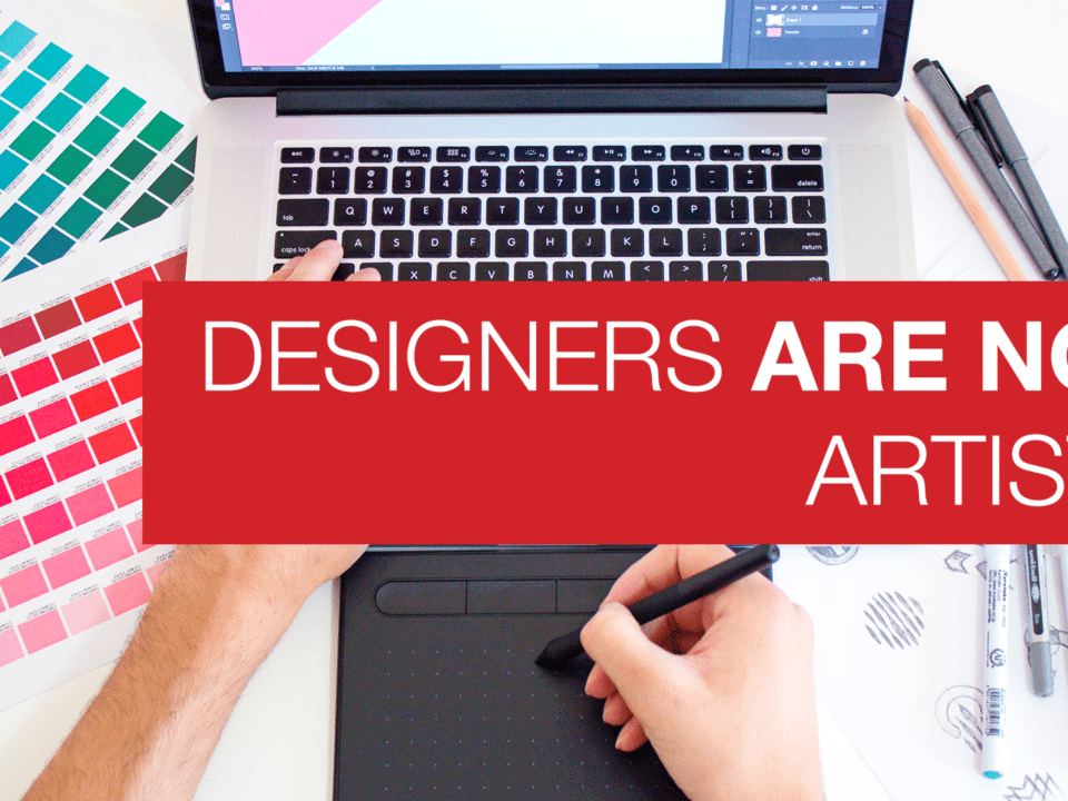 Designers are not Artists main image