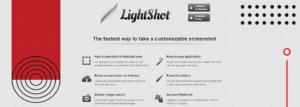 Lightsgot - The fastest way to take a customizable screenshot.