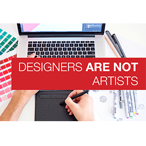 Designers are not Artists