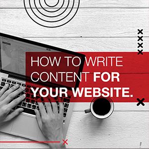 How to write content for your website