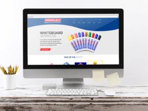 Penflex Website Mockup