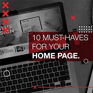 10 Must-Haves for Your Home Page